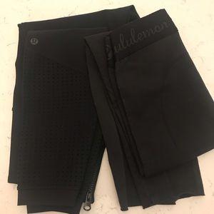 Bundle of 2 pairs of lululemon leggings.
